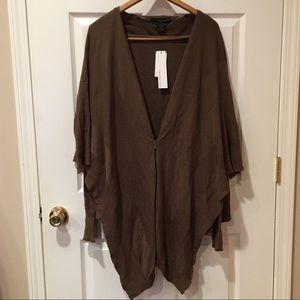 Calvin Klein cape sweater NWT